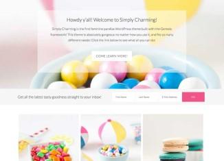 SimplyCharming SimplyCharming WordPress Theme