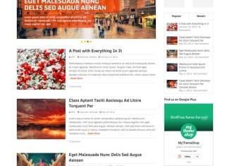 Spike WordPress Theme from MyThemeShop