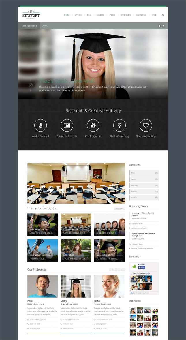 Statfort Learning Management System WordPress LMS