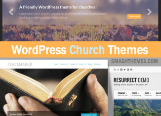 Best Church WordPress Themes Nonprofit Religious Professional Premium 2014