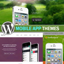 Best WordPress Mobile App Themes 2014