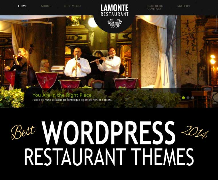 Best WordPress Restaurant Themes 2013-2014