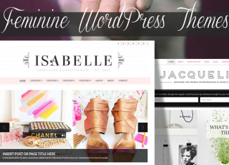 Feminine WordPress Themes for Women