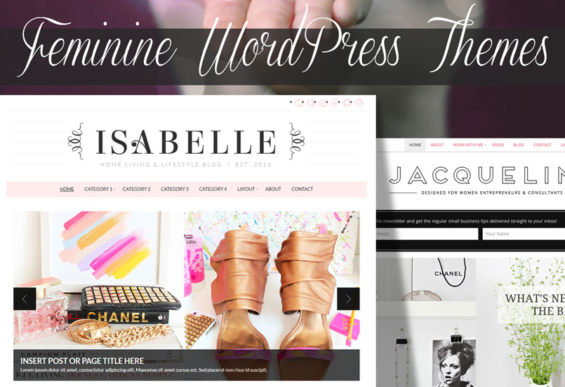 63 Beautiful Feminine WordPress Themes of 2018: for Businesses and ...